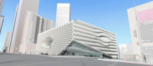 Iano S Backfill Innovative Gfrc Skin Clads The Broad Museum